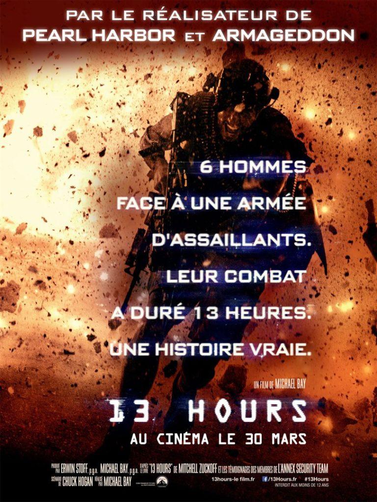 Affiche du film 13 hours