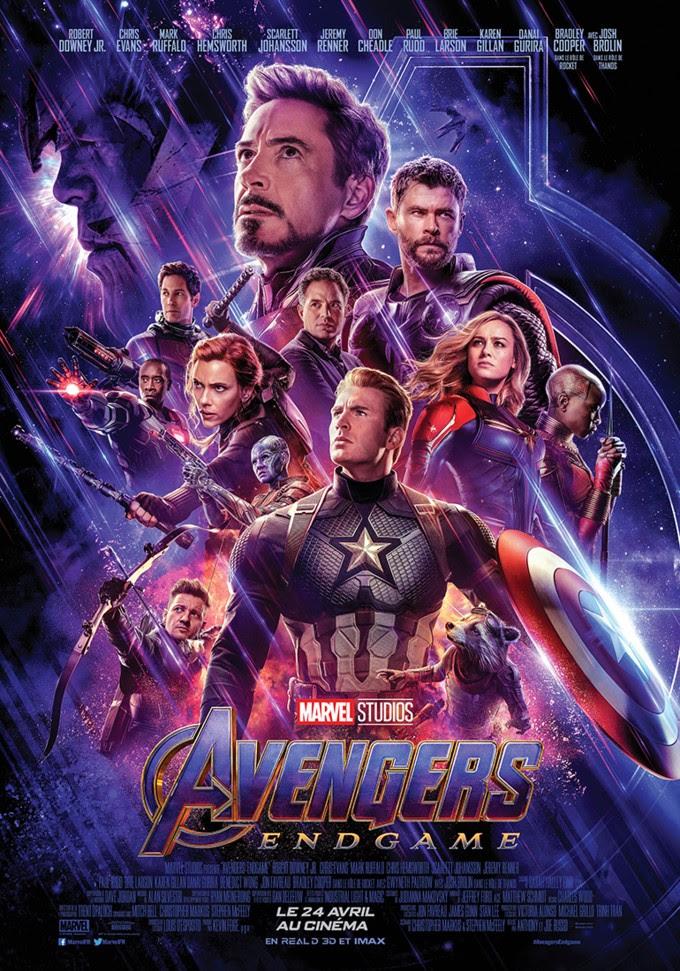 Affiche du film Avengers Endgame