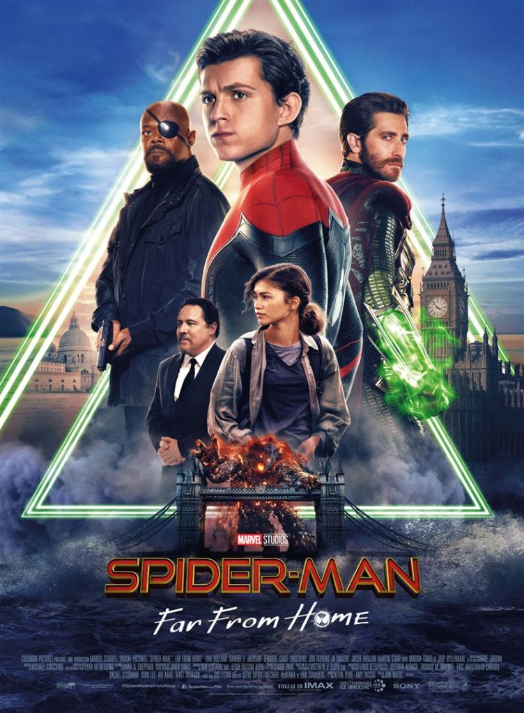 Affiche du film Spider-man Far From Home
