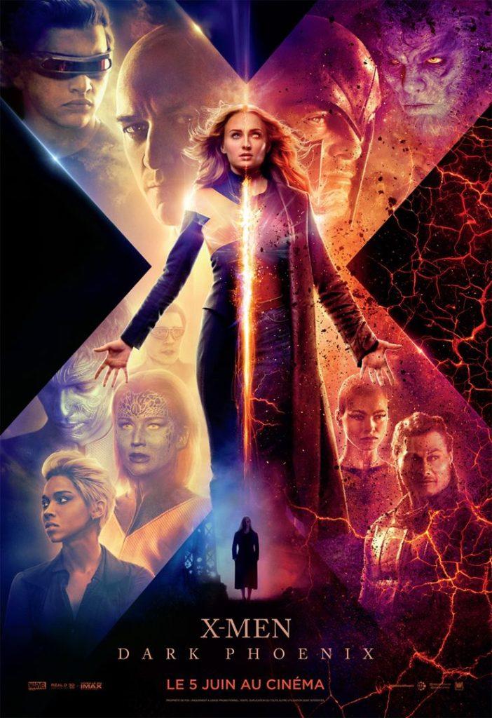 Affiche du film X men Dark Phoenix