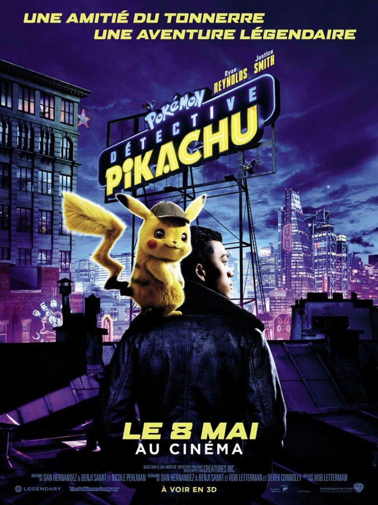 Affiche du film Pokémon: Détective Pikachu