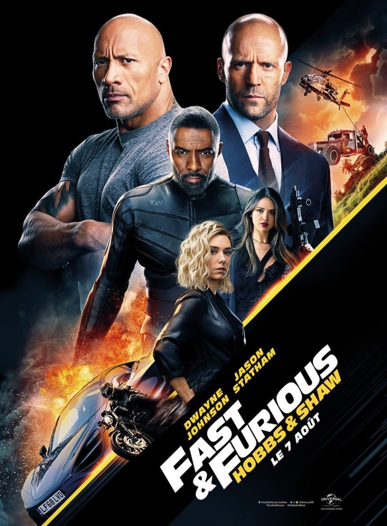 Affiche de Fast & Furious: Hobbs and Shaw