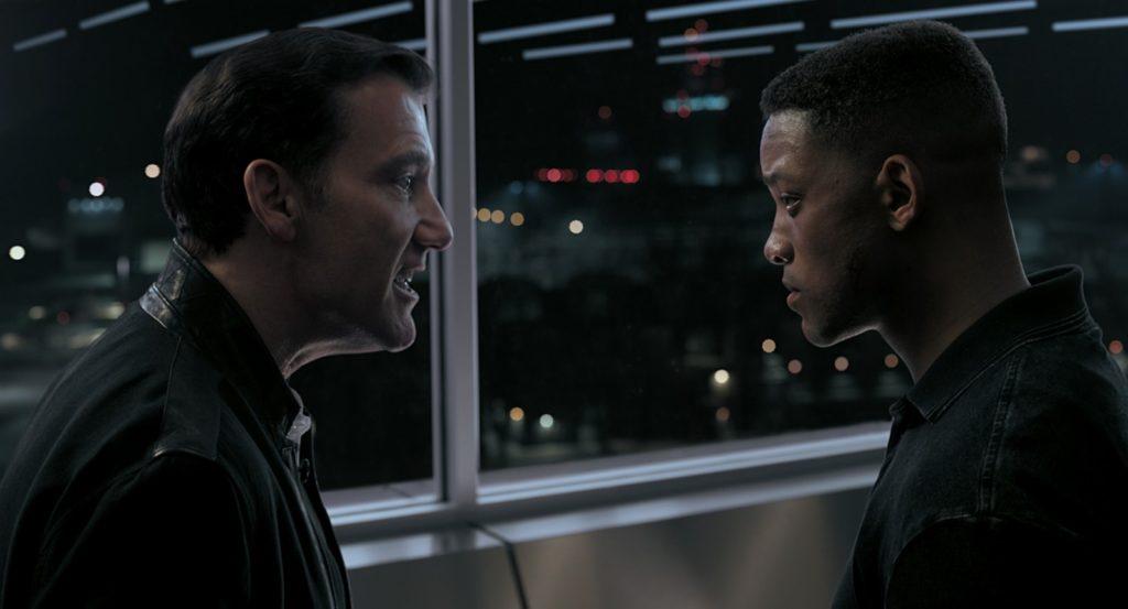 Clive Owen et Will Smith dans le film Gemini man