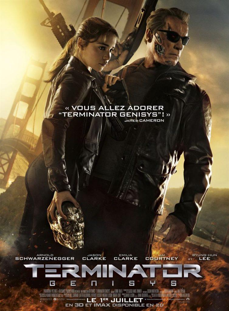 Affiche du film Terminator Genisys