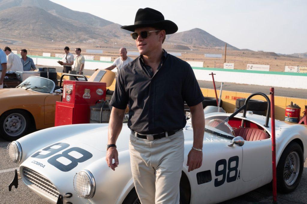 Image de Carroll Shelby (Matt Damon) dans Le Mans 66