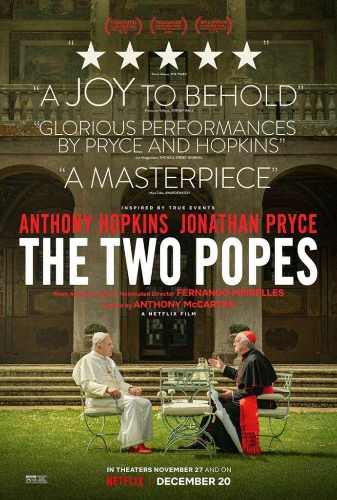 Affiche du film Les Deux Papes