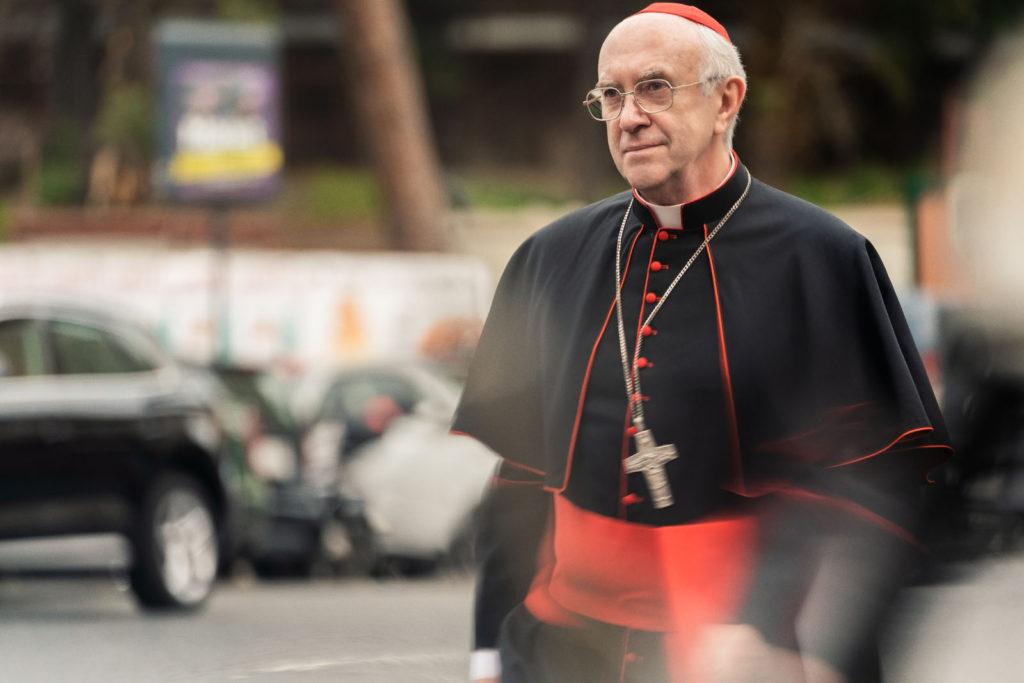 Jonathan Pryce dans le film Les Deux Papes