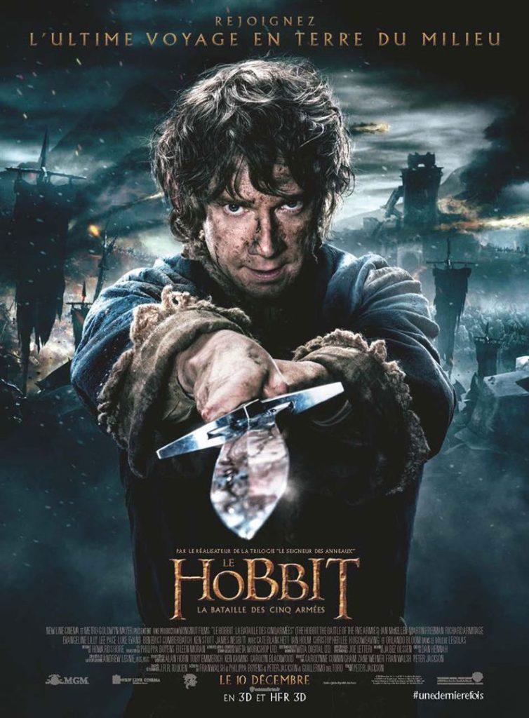 Affiche du film Le Hobbit: La Bataille des Cinq Armées