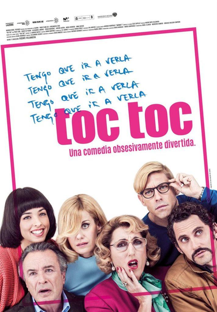 Affiche du film Toc Toc