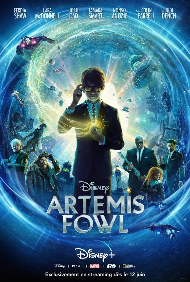 Affiche du film Artemis Fowl