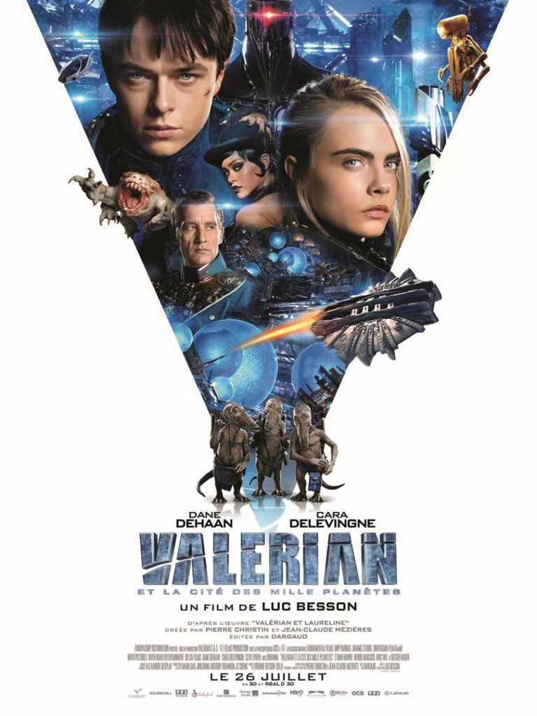 Affiche du film Valerian